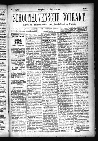 Schoonhovensche Courant 1915-12-31