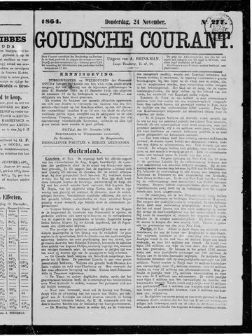 Goudsche Courant 1864-11-24