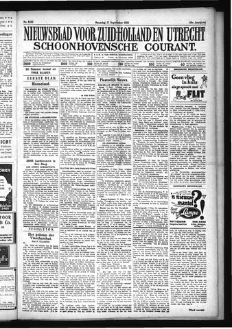 Schoonhovensche Courant 1928-09-17