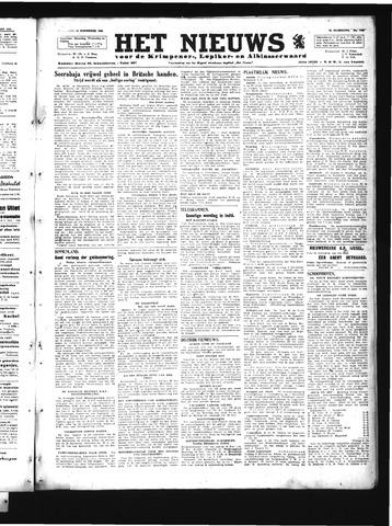 Schoonhovensche Courant 1945-11-14