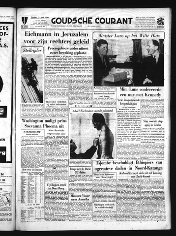 Goudsche Courant 1961-04-11