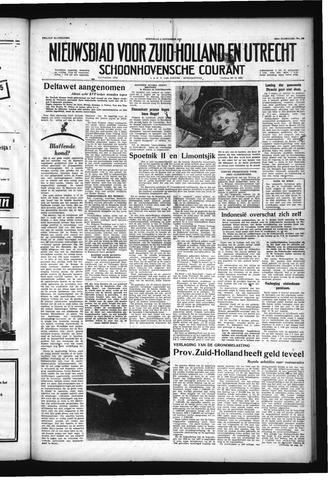 Schoonhovensche Courant 1957-11-06
