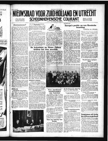 Schoonhovensche Courant 1950-03-22