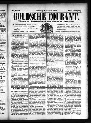 Goudsche Courant 1894-01-09