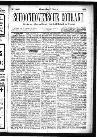 Schoonhovensche Courant 1909-03-03