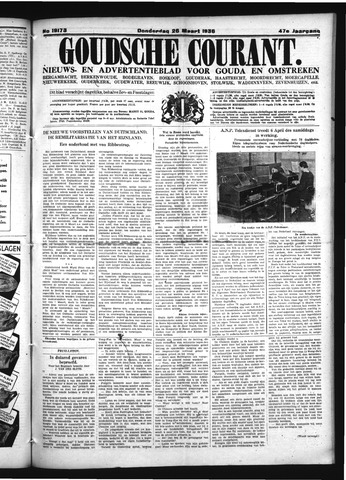 Goudsche Courant 1936-03-26