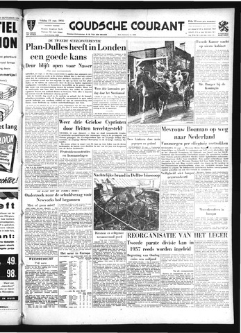 Goudsche Courant 1956-09-21