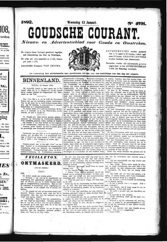 Goudsche Courant 1892-01-13