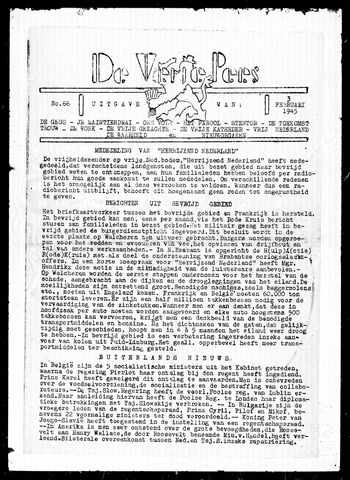 De Vrije Pers 1945-02-03