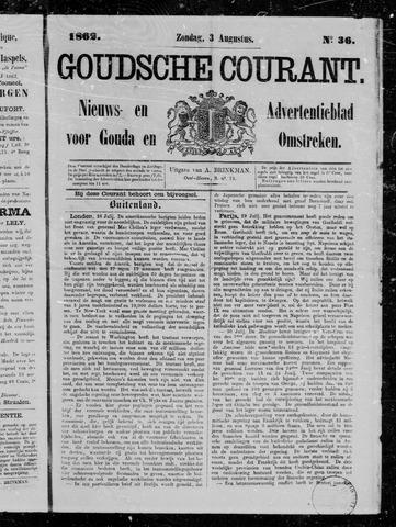 Goudsche Courant 1862-08-03