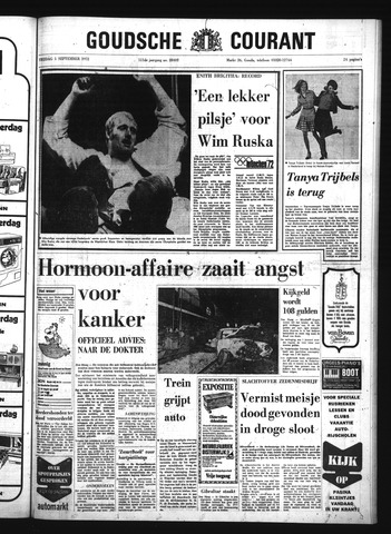 Goudsche Courant 1972-09-01
