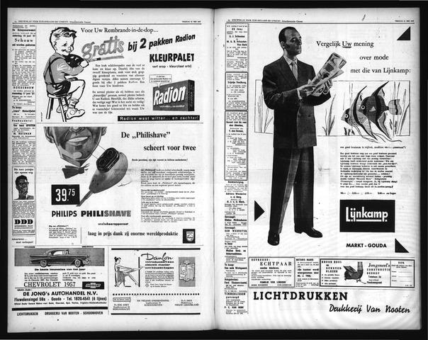 Schoonhovensche Courant 1957-06-15