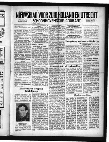 Schoonhovensche Courant 1952-01-07