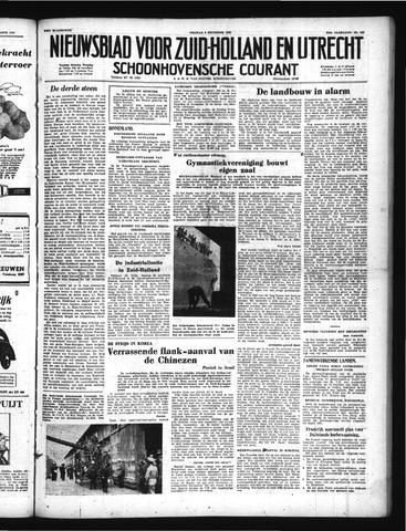 Schoonhovensche Courant 1950-12-08