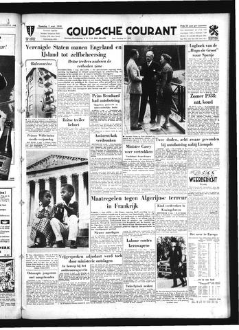 Goudsche Courant 1958-09-01