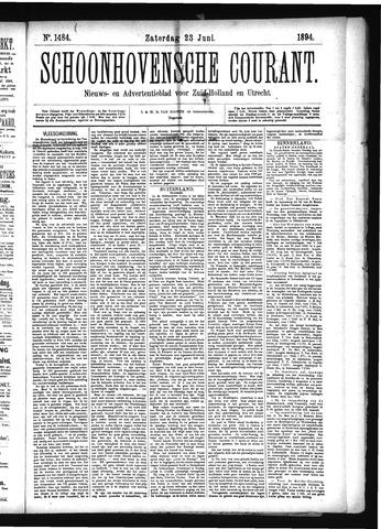 Schoonhovensche Courant 1894-06-23