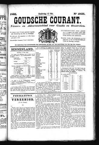 Goudsche Courant 1892-05-12