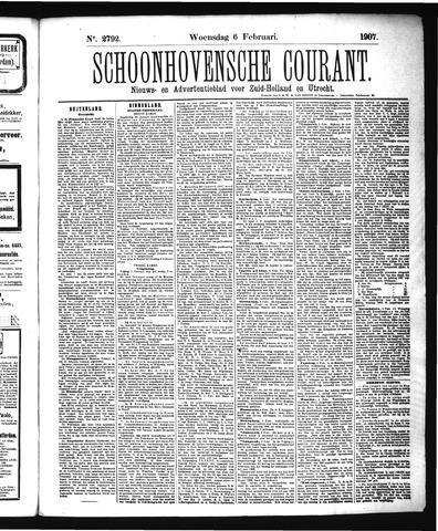 Schoonhovensche Courant 1907-02-06