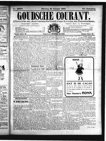 Goudsche Courant 1913-01-21