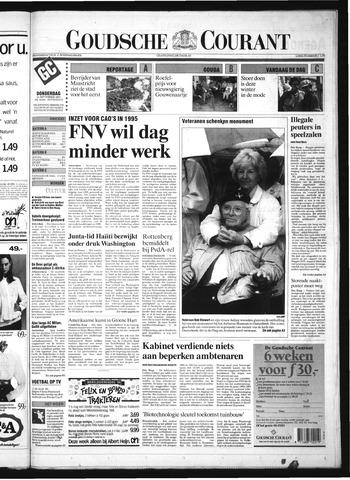 Goudsche Courant 1994-09-15
