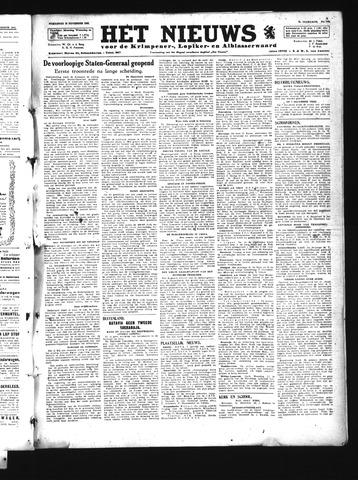 Schoonhovensche Courant 1945-11-21