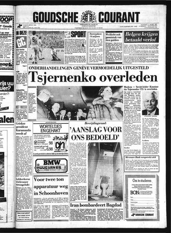 Goudsche Courant 1985-03-11
