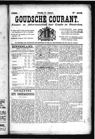 Goudsche Courant 1890-01-14