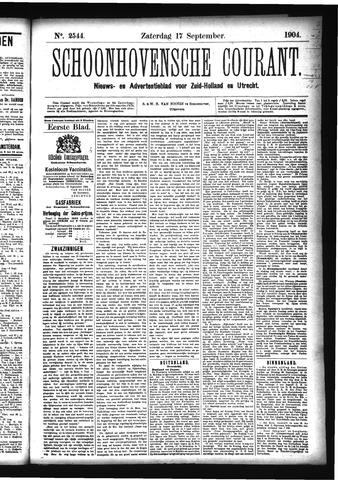 Schoonhovensche Courant 1904-09-17