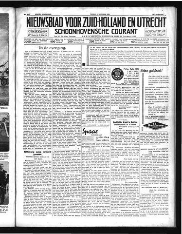 Schoonhovensche Courant 1938-10-14