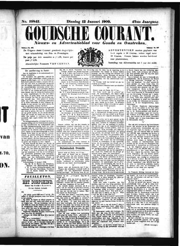 Goudsche Courant 1909-01-12