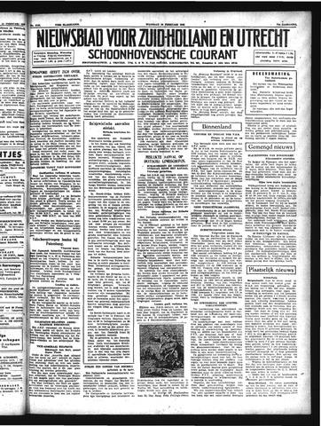 Schoonhovensche Courant 1942-02-16