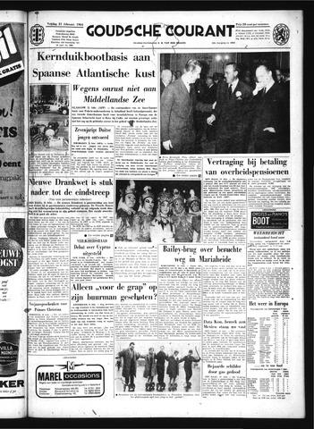 Goudsche Courant 1964-02-21