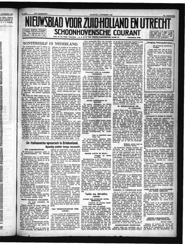 Schoonhovensche Courant 1940-11-04
