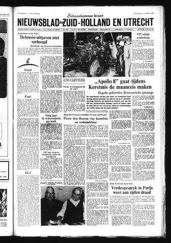 Schoonhovensche Courant 1968-11-13