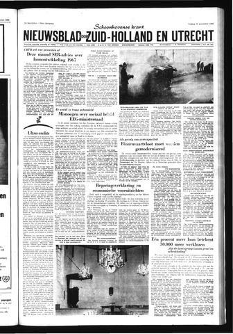 Schoonhovensche Courant 1966-11-25