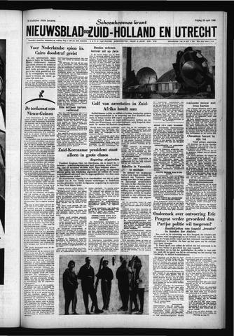 Schoonhovensche Courant 1960-04-22