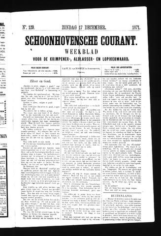 Schoonhovensche Courant 1871-12-17