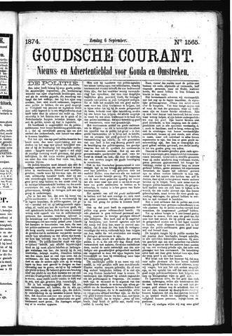 Goudsche Courant 1874-09-06