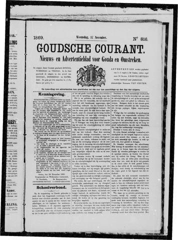 Goudsche Courant 1869-11-17