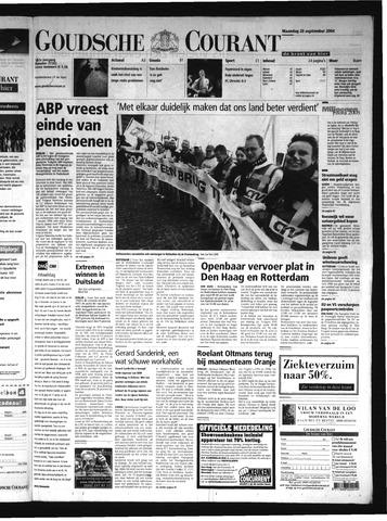 Goudsche Courant 2004-09-20