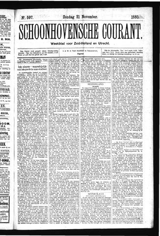 Schoonhovensche Courant 1880-11-21