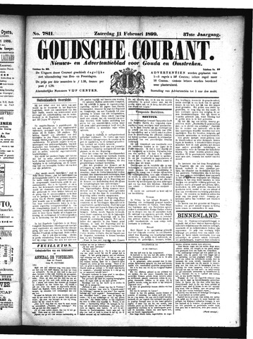 Goudsche Courant 1899-02-11