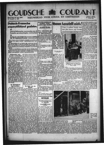 Goudsche Courant 1940-06-24