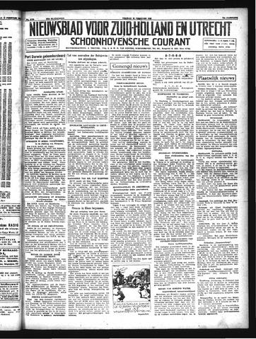 Schoonhovensche Courant 1942-02-20