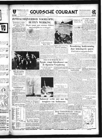 Goudsche Courant 1957-02-06