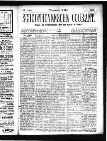 Schoonhovensche Courant 1903-05-13