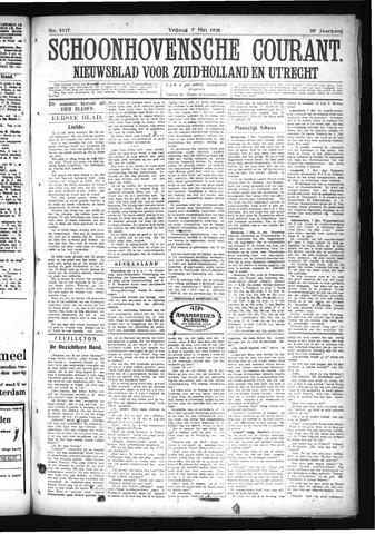 Schoonhovensche Courant 1926-05-07