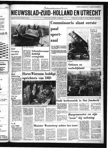 Schoonhovensche Courant 1977-09-26