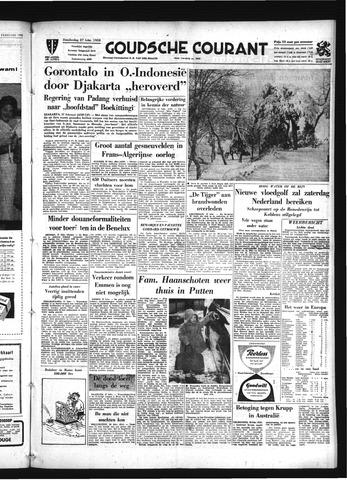 Goudsche Courant 1958-02-27