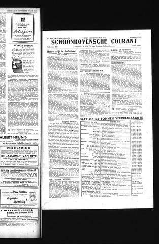Schoonhovensche Courant 1944-09-22
